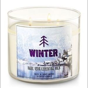 """Winter"" Scented Candle - Bath & Body Works"